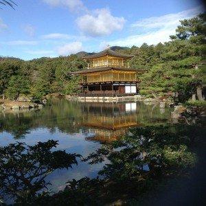 Le pavillon d'or de Tokyo le 27 décembre 2014