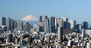 Mont Fuji 07 vu depuis Tokyo à 100 kms