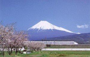 Mont fujiama 02 avec Shinkansen