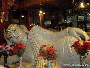 Shanghai bouddha de Jade allongé de 4  mètres de long 04