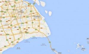 Shanghai carte
