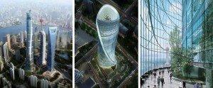 Shanghai La deuxième tour la plus haute du monde 02