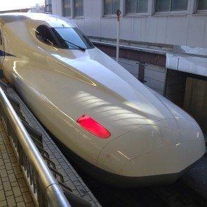 Shinkansen N700 le 23 décembre 2014