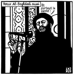 Dessin de Philippe HONORE dans Charlie Hebdo