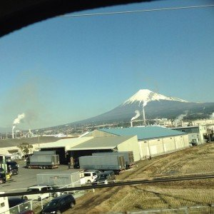 Mont Fuji du Shinkansen