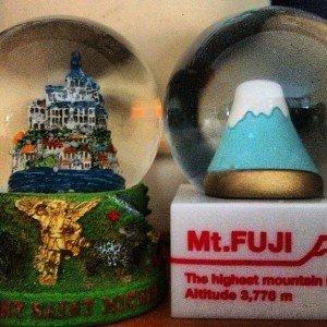 Mt St Michel et Mt Fuji le dimanche 1er février 2015