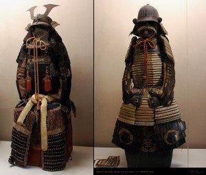 Okayama château 07 armure de samuraï de la période Edo