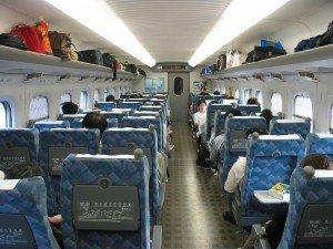 Shinkansen 700 siège classe standard