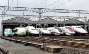 Shinkansens  de la Japan Rail East   01