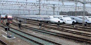 Shinkansens  de la Japan Rail West   01