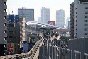 Tokyo Nippori Toneri Liner 03 pont de OUGI-OHASHI