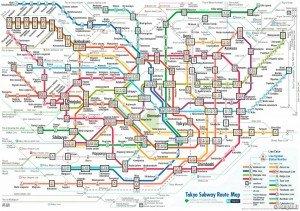 Tokyo plan du métro 02 bis