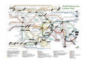 Tokyo Metro plan  JR 01