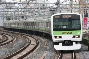 Tokyo Train 541 of Yamanote Line, JR East E231-500