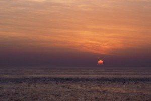 Coucher de soleil de Laurent Claudel 01